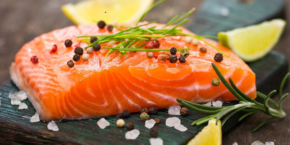 Salmon for multiple sclerosis