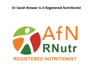 AfN registered nutritionist