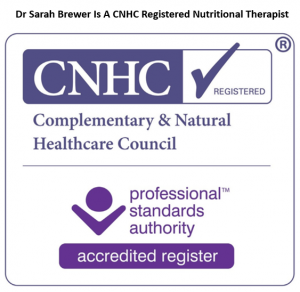 CNHC registered nutritional therapist
